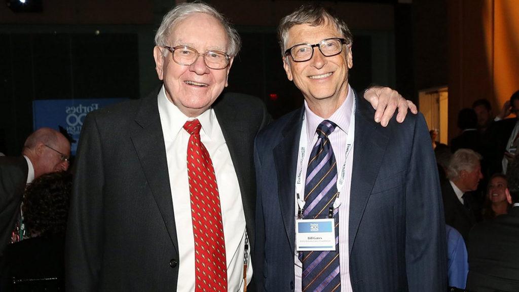 Warren met zijn maatje Bill Gates.