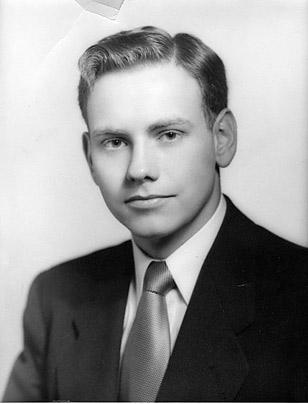 Een foto van superbelegger Buffett in zijn jonge jaren.